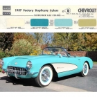 1957 Chevrolet Paint Colors