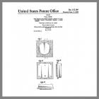 Friedland Warbler Design Patent Drawing 215,189