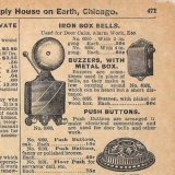 Sears First Electric Buzzer 1897 Fall Catalog