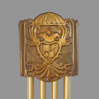 Coat of Arms Coverfor  Cam-Driven Westminster Door Chime. 1936