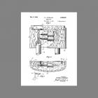 Carltone Catalin Bakelite Longbell Tubular Door Chime Patent
