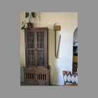 Art Deco Starburst Long Bell Door Chime as found in Tucson, Arizona Niche