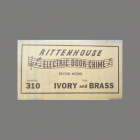 Label on Rittenhouse Devon 310 Box
