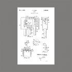 Patent for Faraday Tubular Long Bell Door Chime.