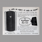 Trade Magazine Ad for VE Friedland Westminster Chime