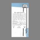 Mello-Chime 1941 Longfellow Apollo Doorbell Catalog Entry