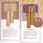 Vintage Mello-Chime Stylist and Aristocrat catalog entry l