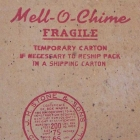 Mello-Chime Stylist original shipping box
