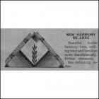 Mello Chimes Deluxe Period 1939 Catalog Description Page