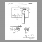 NuTone Hanger Unit Patent Drawing 1949