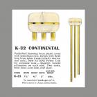 NuTone Continental Catalog Entry