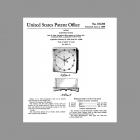 NuTone L36 Elute Chord-Tone Clock-Chime Design Patent