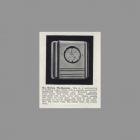 1943 Catalog Ad for NuTone Weatherman