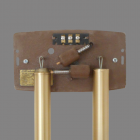 Rittenhouse Long Bell Door Chime Mechanism plays single note on longer tube.
