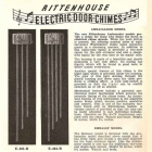 Ritenhouse Ambassador and Embassy Doorchime Catalog Entry
