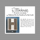 Rittenhouse Bel Air Model 391 Door Chime Catalog Entry 1961