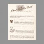 Rittenhouse Door Chimes Americana Series Catalog Description ~1940