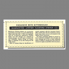 Rittenhouse Floating Striker Guarantee from 1954 marketing