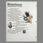 Rittenhouse A household word for quality.