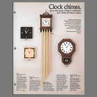 Rittenhouse Clock Chimes Catalog Page