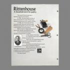 1970s Rittenhouse Catalog Page Lloyd Rittenhouse