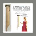 Rittenhouse Precedent Long Chime Doorbell 1960 Catalog Entry and Illustration