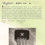 Rittenhouse Sheffield Model 410 Catalog Description