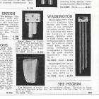 Rittenhouse Washington Tubular Door Chime Catalog page