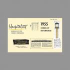 Rittenhouse Williamsburg Door Chime clock introduction 1955