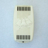 Snapit Goldent Tone Bakelite door chime cover in Ivory