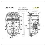 Snapit  Single Tone Door Chime Patent