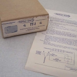 Thermo-Tone TT-1 Vintage Doorbell Chime Box & Instructions