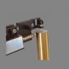 Petite Minimalist Tubular Door Chime Filament hanger and stabilizer