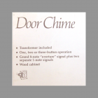 GE Feature List on Box for Maestro Door Chime 1985