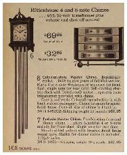 Rittenhouse Colonial Doobell Clock 1964     Rittenhouse Colonial Doobell Clock 1964