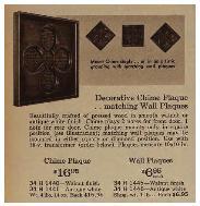 Sears Doorbell Wall Decor 1964