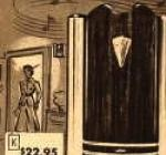 Sears first catalog musical door chime. The Waldorf, 1949