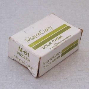 Miami Carey M-61 Door Chime Buzzer Box