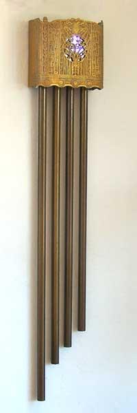 Pryanco Peacock Vintage Longbell Door Chime