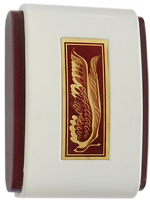 Faraday Burgundy No. 585 E Vintage Door Chime