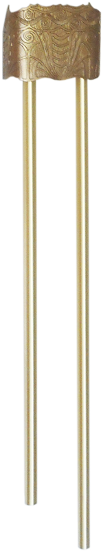 Pryanco Tubular Door Chime with cast aluminum cover