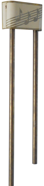 DeVelera Petite Long-Chime Doorbell ~1946