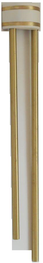 Half Round Longbell Door Chime Maker Unknown