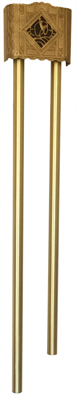 AMPGO Long Bell Door Chime ~1940