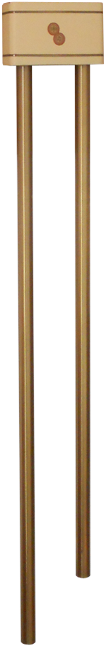 Mello-Chime Model F Long Bell Door Chime Original