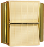 NuTone Futura Mid Century Door Chime 1958